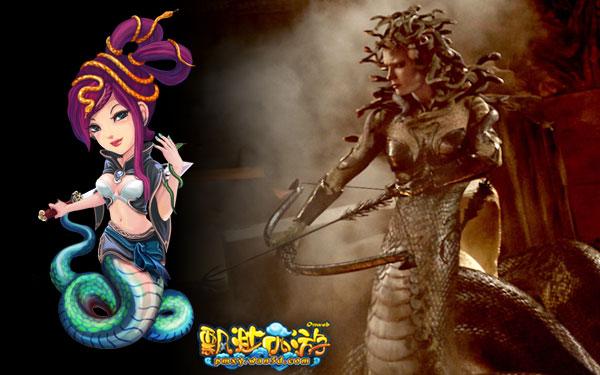 蛇妖—《诸神之战》美杜莎